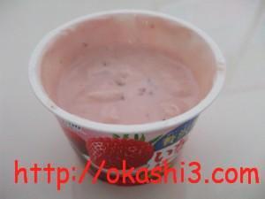オハヨー乳業贅沢果実いちご&ヨーグルト