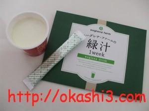 明治プロビオヨーグルトR-1とユーグレナファームの緑汁