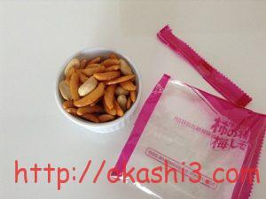亀田製菓柿の種(梅しそ) カロリー