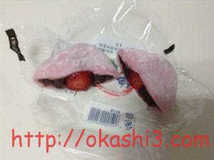 ヤマザキ苺大福 カロリー 断面 いちご