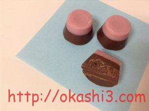 カバヤあっさりショコラ苺 カロリー 美味しい