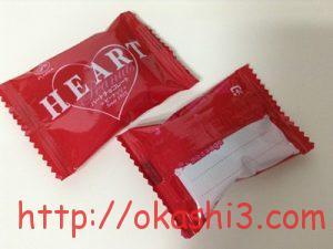不二家ハートチョコレートピーナッツ 原材料・栄養成分・アレルギー物質・カロリー・メッセージ