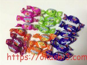 Damlaダムラ ソフトキャンディ フルーツアソート 種類・個数