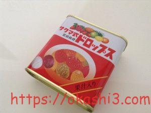 サクマ式ドロップス カロリー・種類・値段