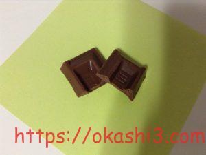 meiji アグロフォレストリーチョコレート ミルク 断面
