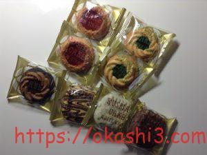 中山製菓 ロシアケーキ 味 種類