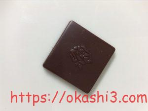 シャルロッテ 生チョコレート バニラ 絵柄 模様 薔薇