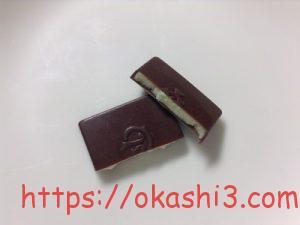 シャルロッテ 生チョコレート バニラ 断面