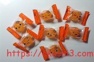 川口製菓 みかんちゃん 顔 イラスト 種類