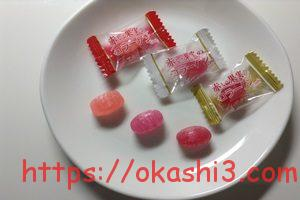 扇雀飴本舗 赤い果実のコラーゲンキャンディー 個包装 パッケージ