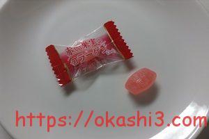 扇雀飴本舗 赤い果実のコラーゲンキャンディー アセロラ味 感想 レビュー 口コミ