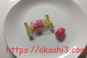 扇雀飴本舗 赤い果実のコラーゲンキャンディー ザクロ味 感想 口コミ レビュー