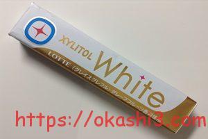 キシリトールホワイト グレイスグレフル カロリー 値段 感想 レビュー 口コミ