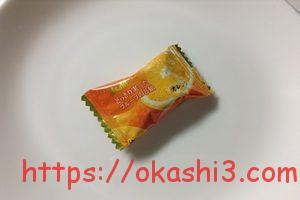 アサヒ どっさり実ったフルーツのど飴 オレンジ味 個包装 パッケージ
