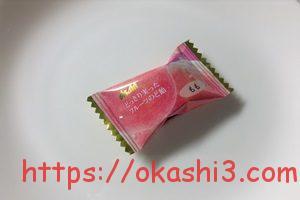 アサヒ どっさり実ったフルーツのど飴 もも味 個包装 パッケージ