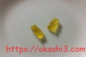 HARIBO ゴールドベア レモン味 感想 レビュー 口コミ