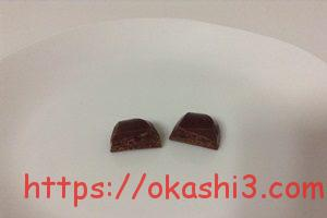 VAN HOUTEN CHOCOLATE バンホーテンチョコレート 断面 2層