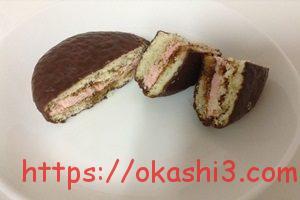 チョコパイ PABLO監修 プレミアムチーズケーキ ダブルベリー仕立て 口コミ 感想 レビュー
