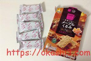 バランスアップ 玄米ブラン メープルくるみ 1箱 5パック