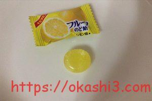 カバヤ フルーツのど飴 レモン味 口コミ 感想 レビュー