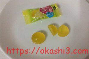 カバヤ コラーゲン10000グミ レモン味 口コミ 感想 レビュー