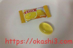 カンロ ノンシュガー果実のど飴 レモン味
