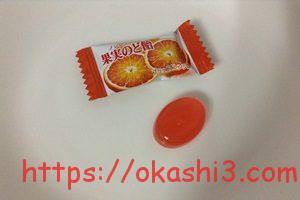 カンロ ノンシュガー果実のど飴 ブラッドオレンジ味
