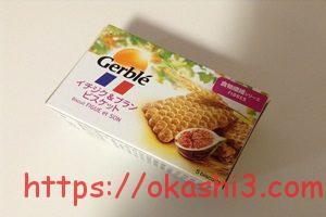 Gerble ジェルブレ イチジク&ブランビスケット 値段 カロリー