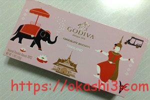 GODIVA プレステージビスキュイコレクション チョコレートビスケット パッケージ タイ 値段 カロリー