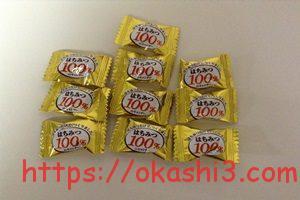 扇雀飴本舗 はちみつ100%のキャンディー 個数