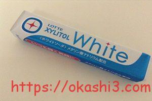 XYLITOL White ホワイトソーダ 値段 カロリー パッケージ