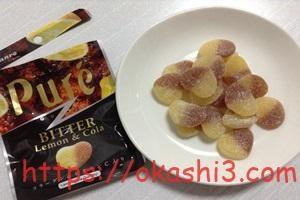 GUMMIT限定ピュレグミのビターレモン&コーラ味
