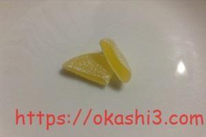ピュレグミレモン味の断面