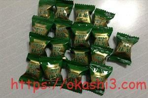 特濃ミルク8.2抹茶の個数