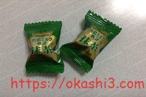 特濃ミルク8.2抹茶の個包装パッケージ