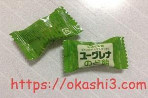 UHA味覚糖ユーグレナのど飴の個包装パッケージ